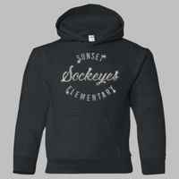 18500B Youth Heavy Blend™ Hooded Sweatshirt Thumbnail